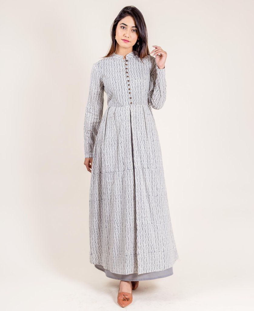 be845c36d43 Slaying the next outing with your bestie would become easier when you wear  this beautiful long layered dress.  LoveMissprint  MissprintClothing ...