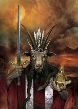 Goat Priest Lord Baphomet Deviantart Arte Satanica Ocultismo