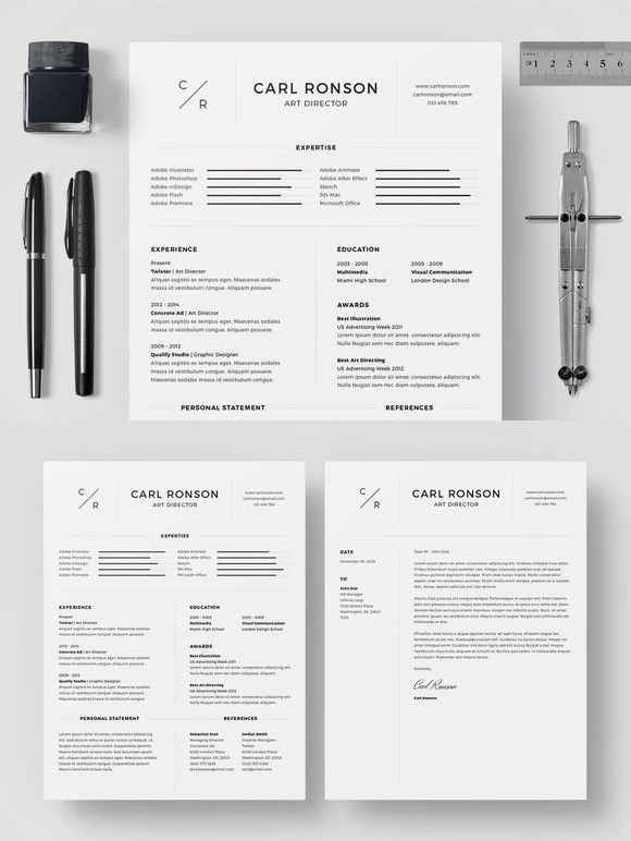 Resume/CV - Carl Ronson Resume Templates Pinterest Resume cv