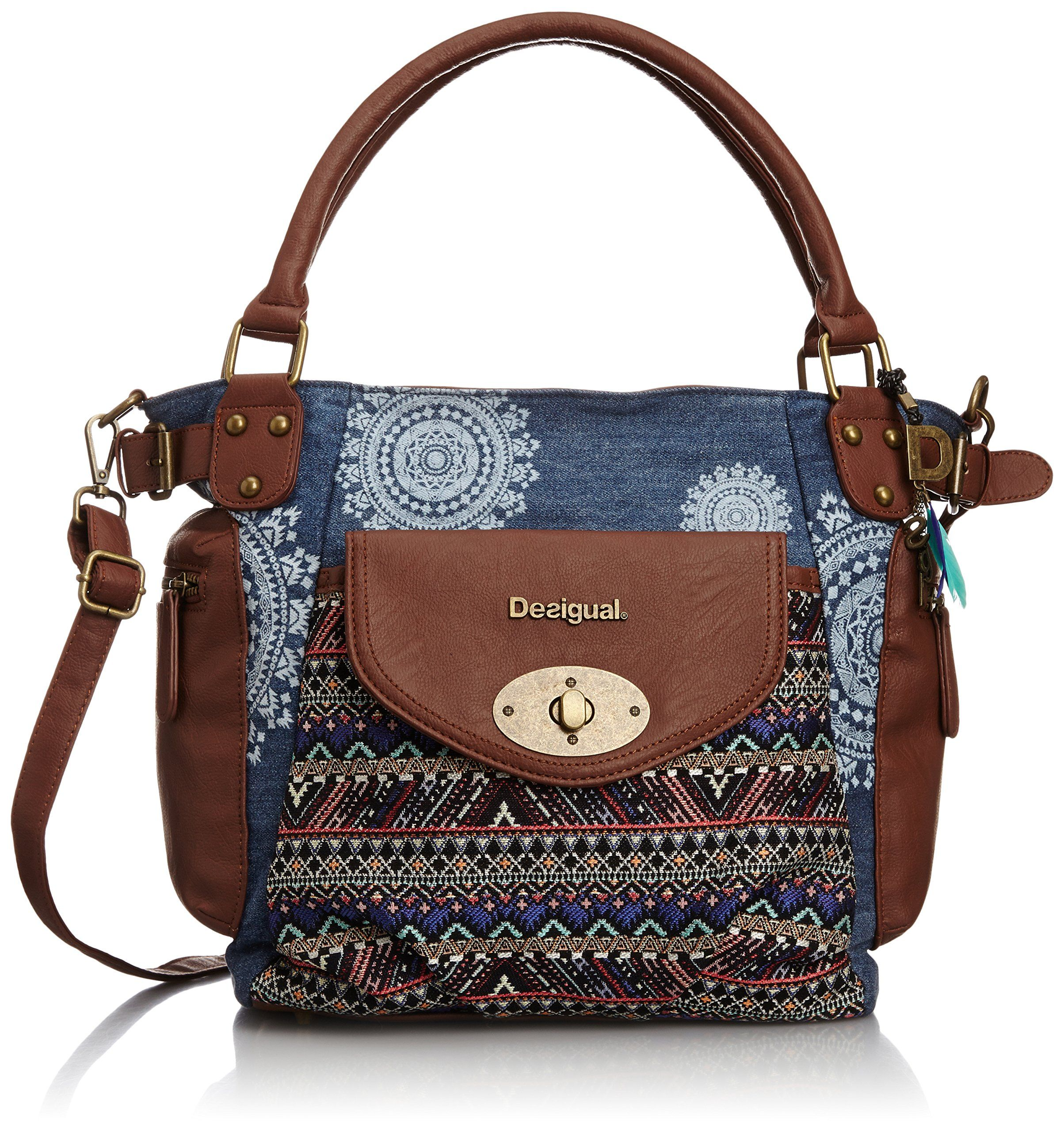 info pour 189a3 0ee17 DESIGUAL Bag MCBEE AFRICAN ART Female - 50X59B8-5006-U ...