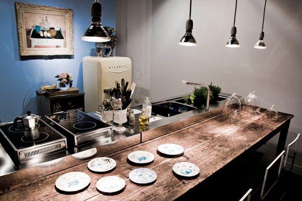 Cucine free standing: Cucina [f] da Alpes Inox | Casa | Pinterest