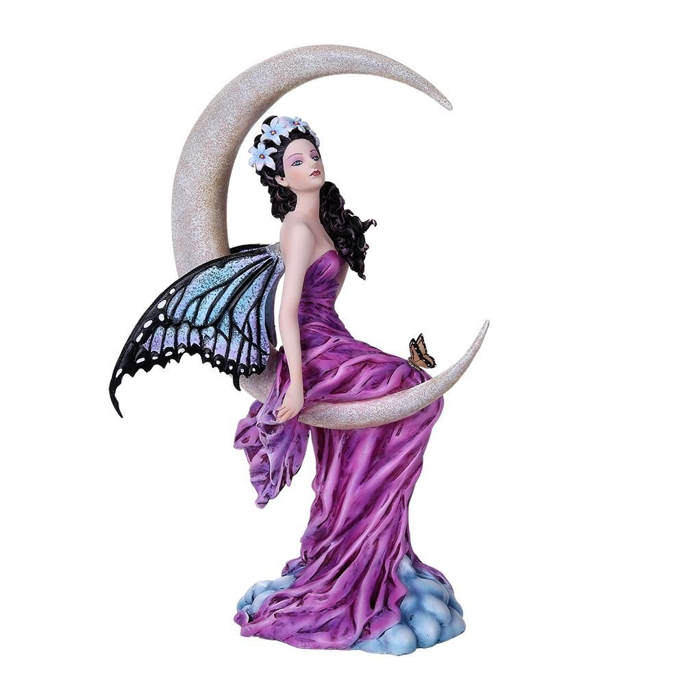 Moon Amethyst Fairy Figurine By Nene Thomas