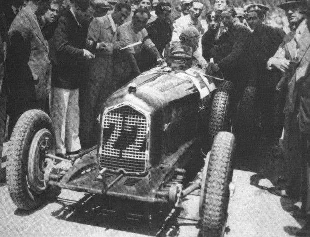 1935 targa florio   louis chiron (alfa romeo b) 2nd
