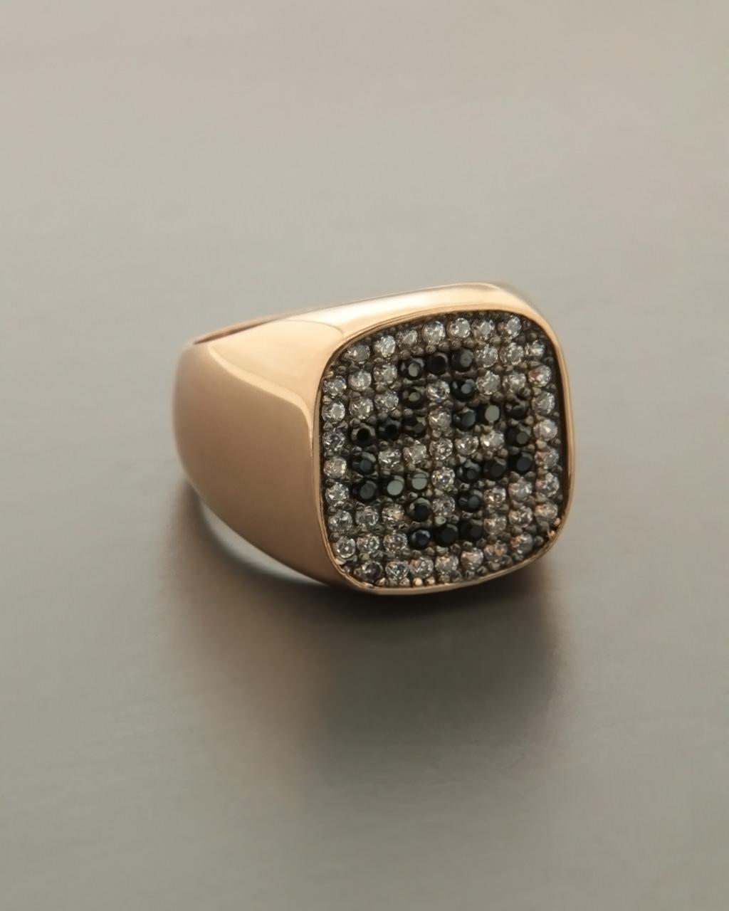 41337e7197 Δαχτυλίδι σεβαλιέ ασημένιο 925 με Zιργκόν Η Καρδιά Μου