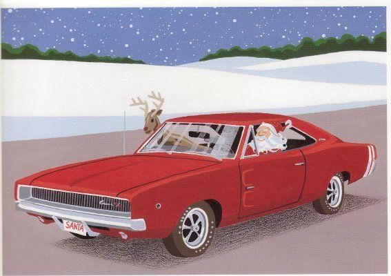 Mopar Christmas Mopar Holidays Pinterest Cars Mopar And Santa