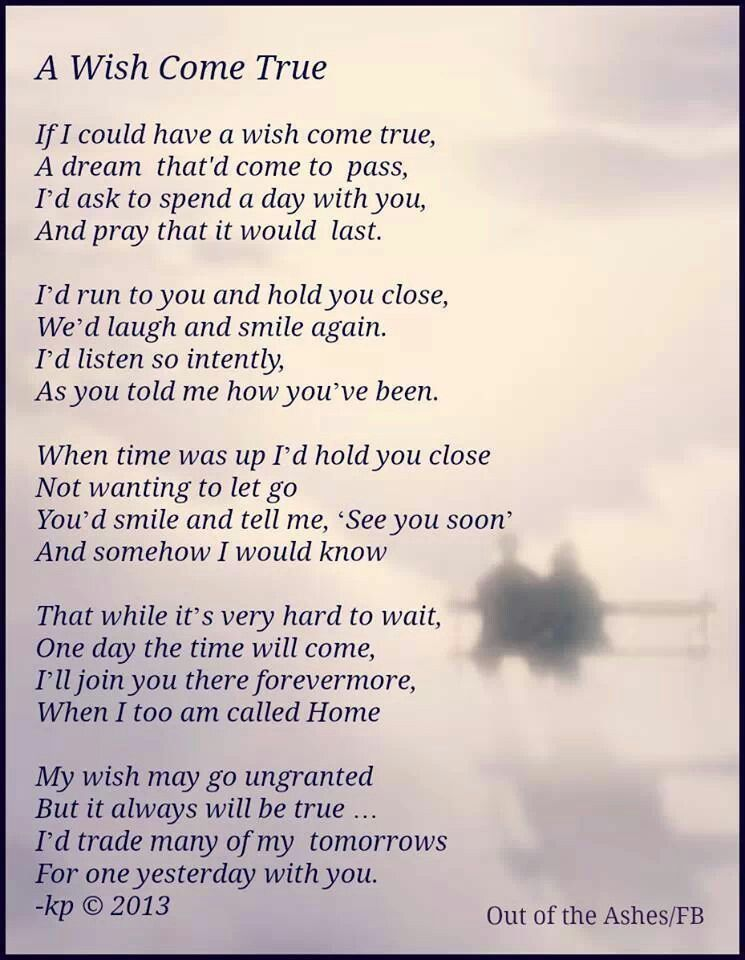 For Mama The Wandering Wondering Mind Miss You Miss You Dad