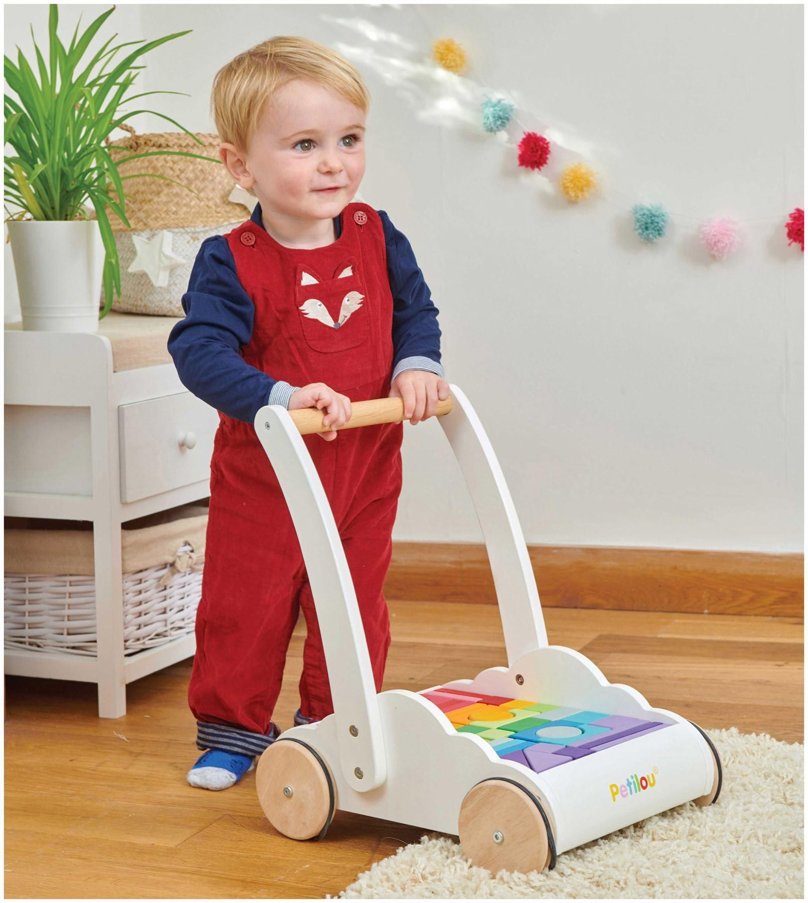 Le Toy Van Petilou Baby Rainbow Cloud Walker in 2020 ...