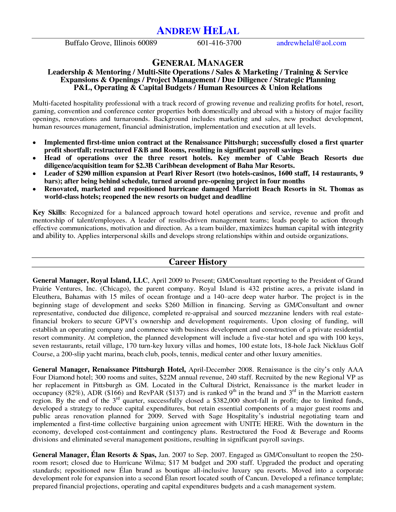 Housekeeping Supervisor Resume Cover Letter Hospital Maintenance