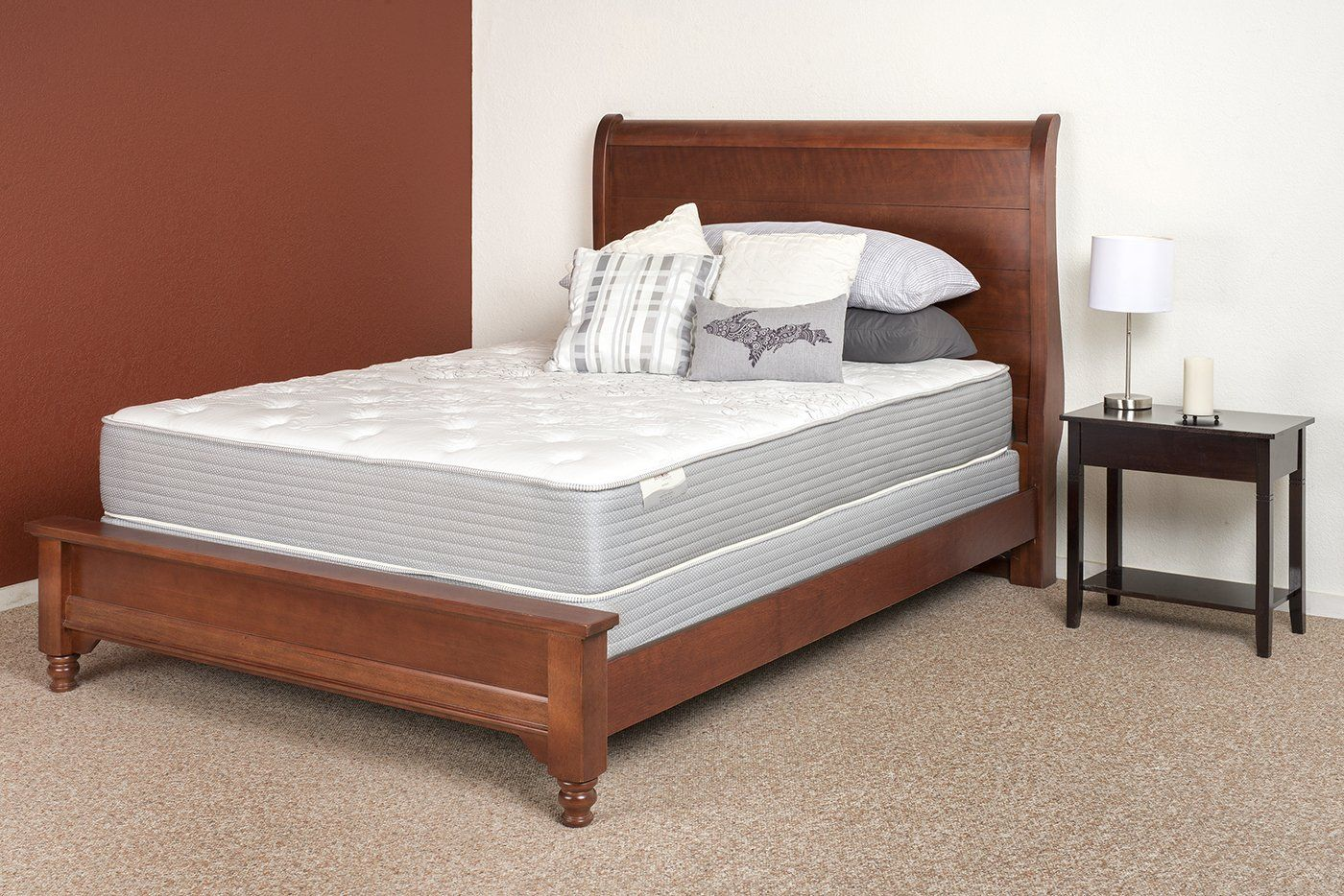 twin restonic comfort care select amherst plush mattress read more