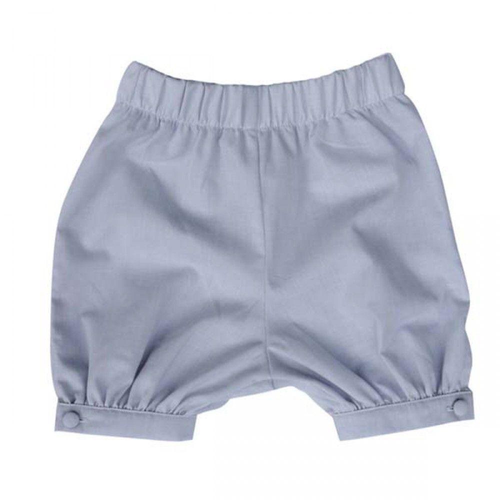 Pantalón bombacho gris