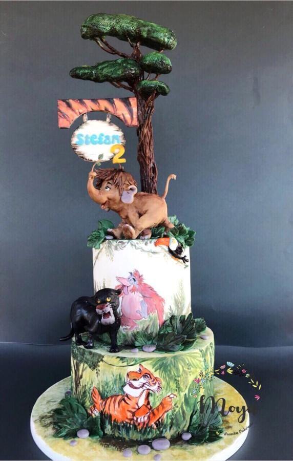 Jungle Book Cake Cake By Branka Vukcevic Jungle Book Cake