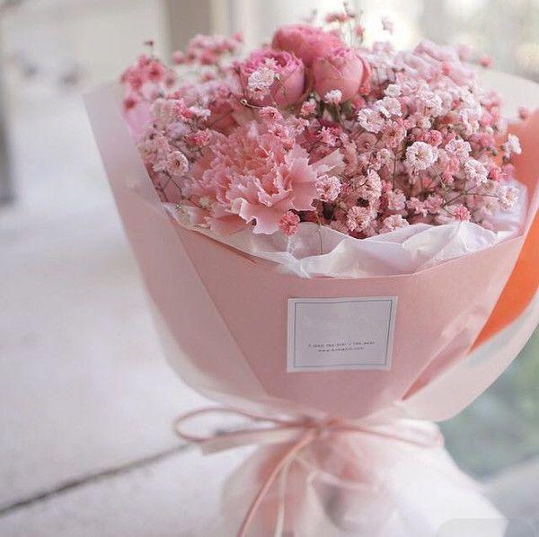粉色满天星康乃馨玫瑰鲜花 | bloom wrap | Pinterest | Wedding, Flowers ...