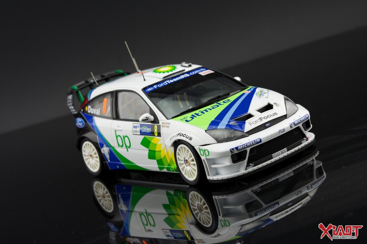 Scale Model Rally Racing Car 1/24 Hasegawa Ford Focus RS WRC 04 & Scale Model Rally Racing Car 1/24 Hasegawa Ford Focus RS WRC 04 ... markmcfarlin.com