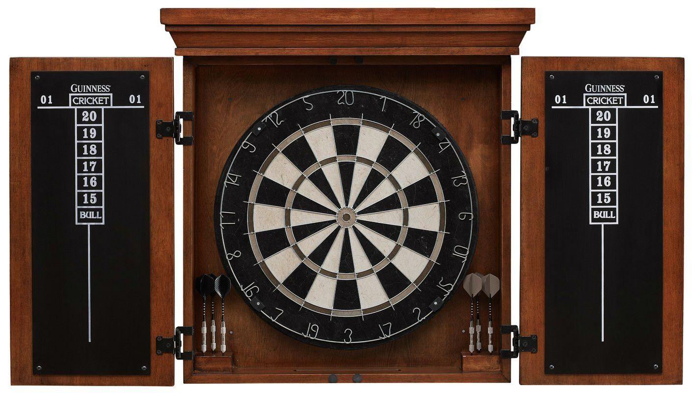 Luxury Dartboard and Cabinet Set
