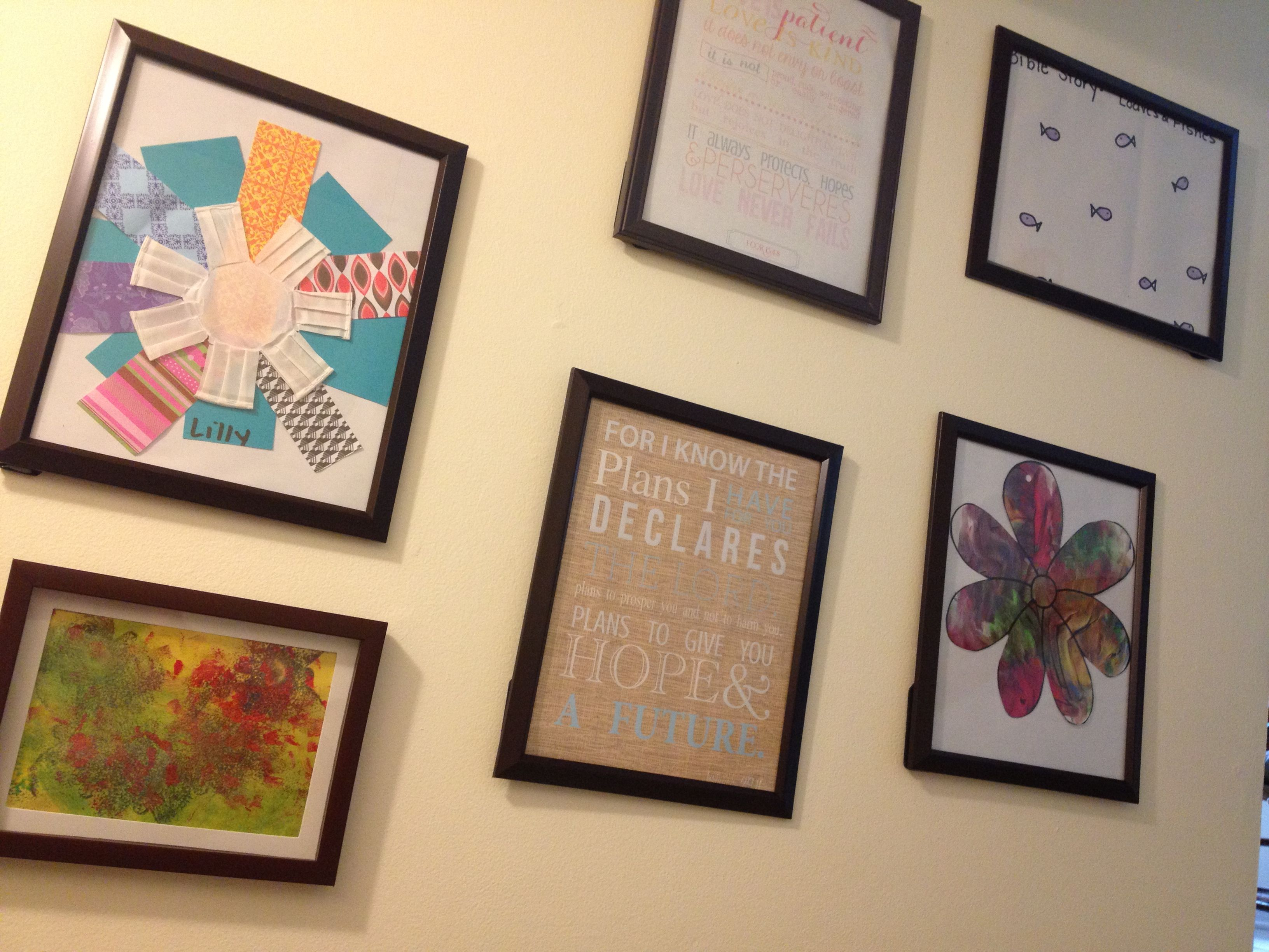 Display Kid Artwork For Playroom Diy Dollar Store Frames Love