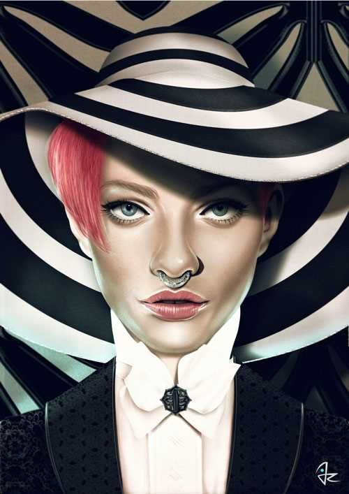 Tablet Digital Portraits by Giulio Rossi