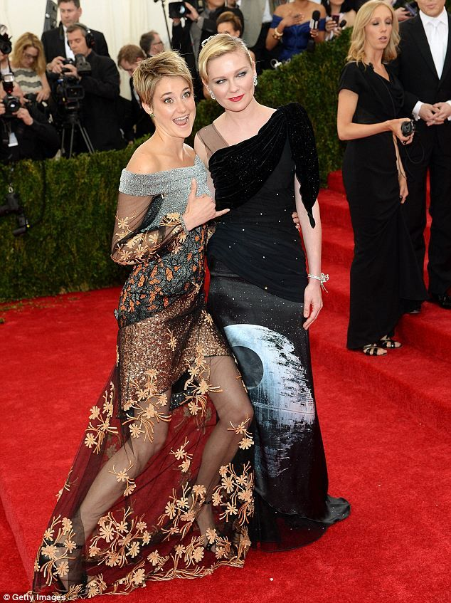 Shailene Woodley lightens her dark brunette for Met Gala ...