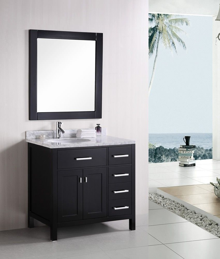 Design Element Dec076 D London 36 Modern Bathroom Vanity Building A Home Pinterest Modern