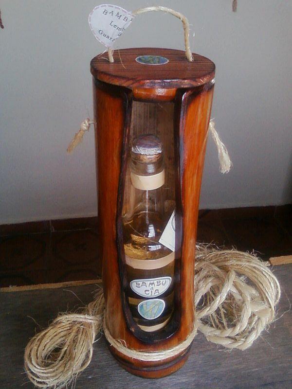 Cone longo com garrafinha e cachacinha de Minas da BamBooZeira - Design http://bamboozeira.blogspot.com