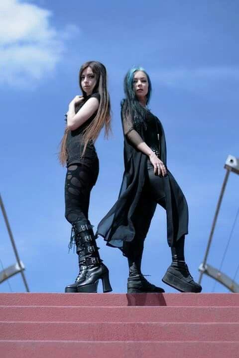 Lady Sariel and Askasu Goth Board Pinterest Board