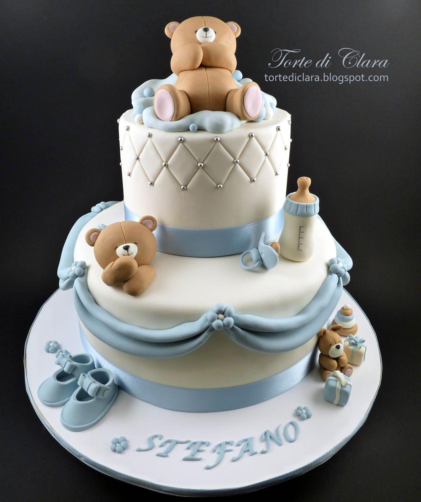 Très Torte di Clara: Torta Battesimo (10) | idee cake battesimo  BX69