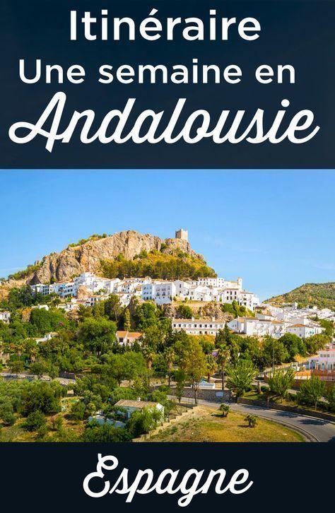 Une semaine en Andalousie