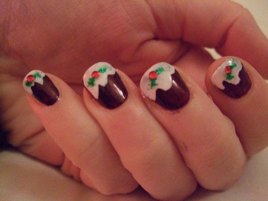 221 best Christmas Nail Art images on Pinterest | Christmas nail art ...
