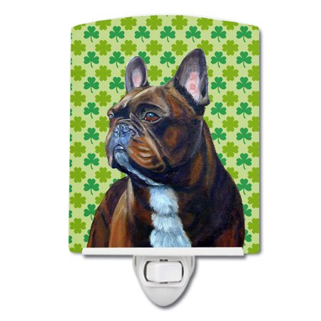 French Bulldog St Patrick S Day Ceramic Night Light Walmart Com French Bulldog Brown Bulldog Artwork French Bulldog