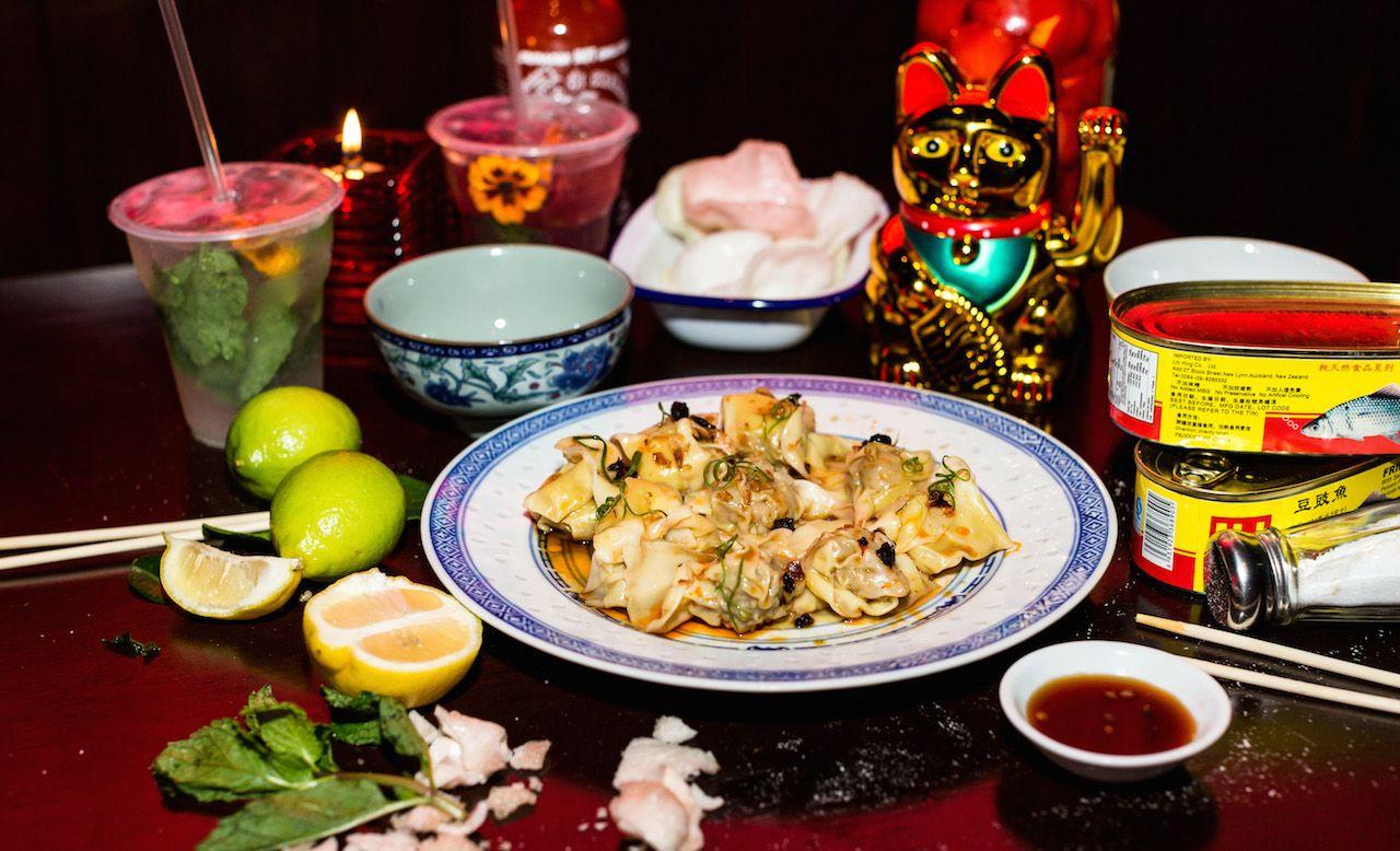 Lucky Lucky Dumplings Chinese Restaurant Eat Dumplings
