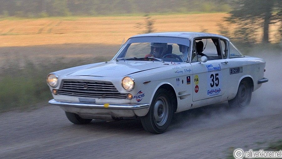 Fiat 2300 Coupe - Lahti Historic Rally 2014
