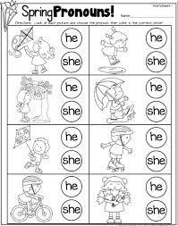 ผลการค้นหารูปภาพสำหรับ he she it worksheet for kindergarten ...