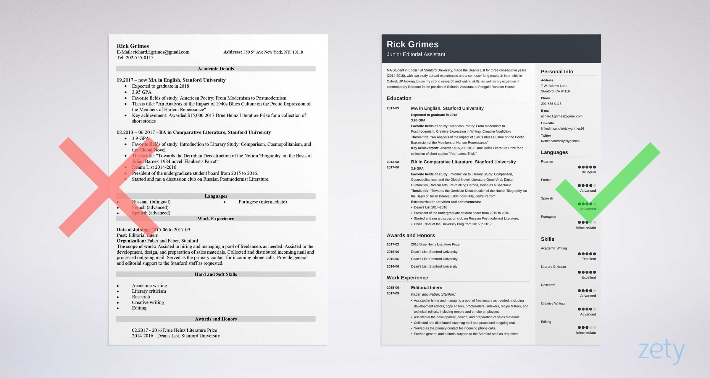 First Resume with No Work Experience (Examples & Guide)