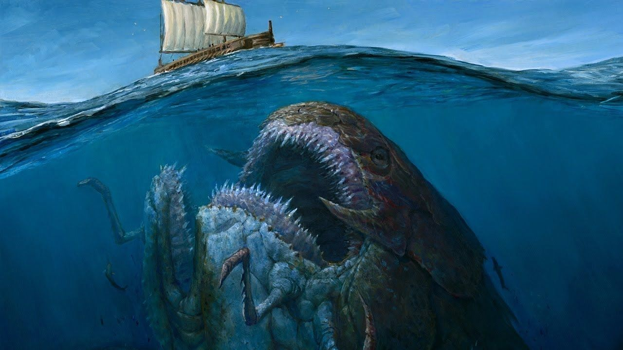 05 Most Terrifying Real Life Sea Monsters Weird Sea Creatures Big Sea Sea Monsters