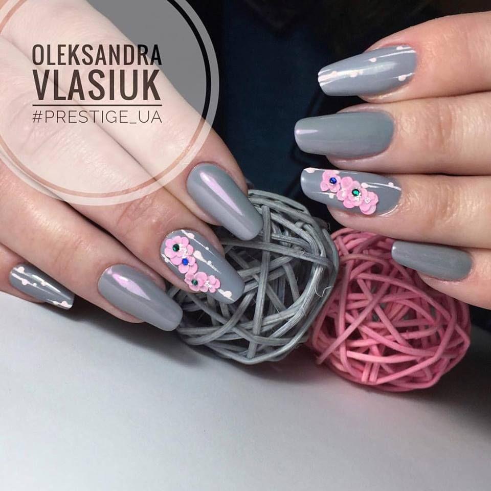 Gelpolish Cool Grey (103304) & Magic Pigments by Oleksandra Vlasiuk ...