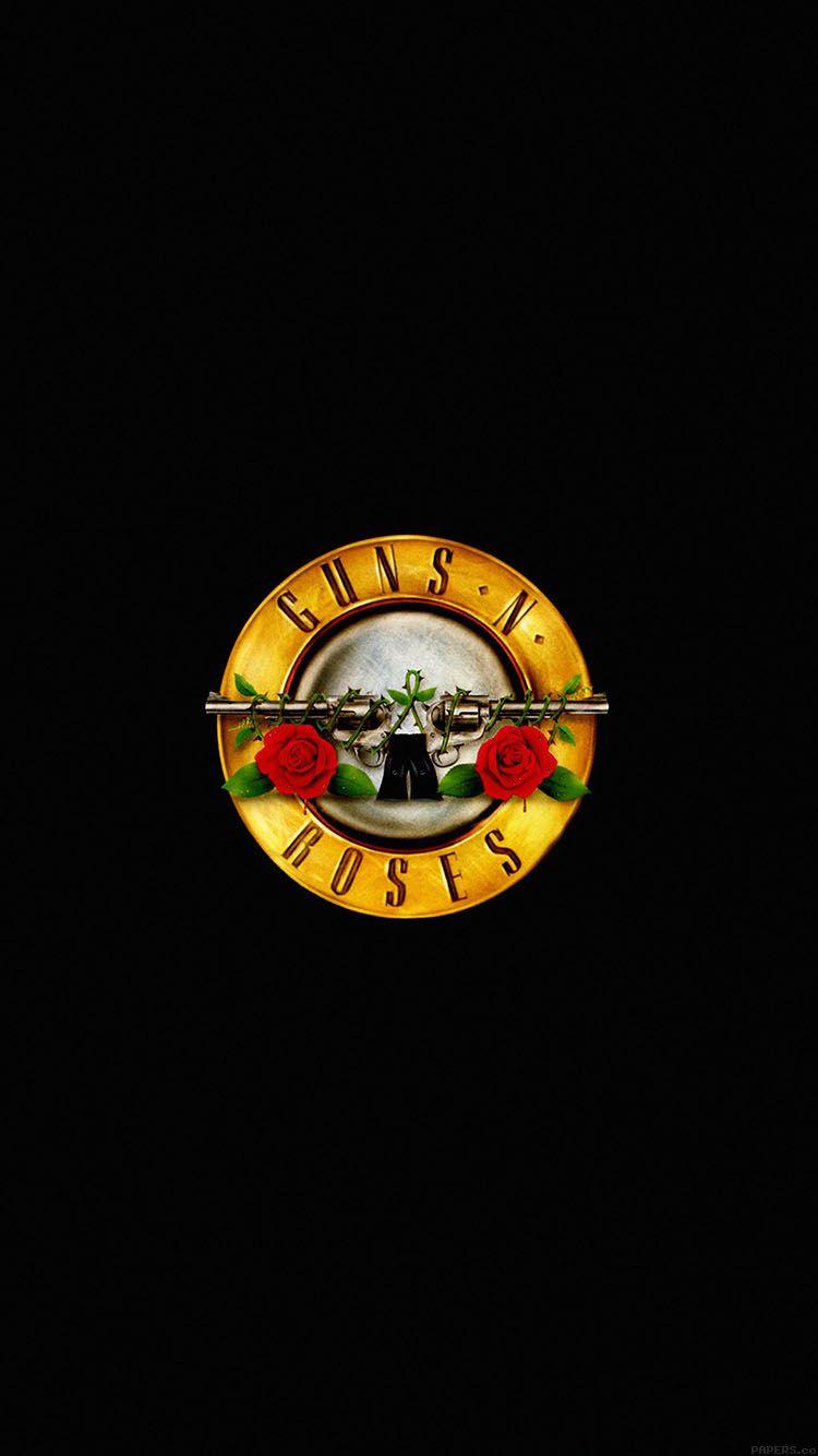 Ac74 Wallpaper Guns N Roses Logo Music Dark Fondo De Pantalla Rock Fondos De Pantalla De Iphone Fondos Rock