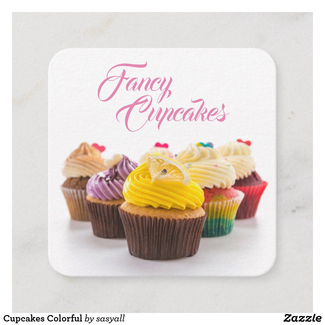 Personalized Cupcake Thank You Notes  Baker Gift  Sweets and Treats Stationery