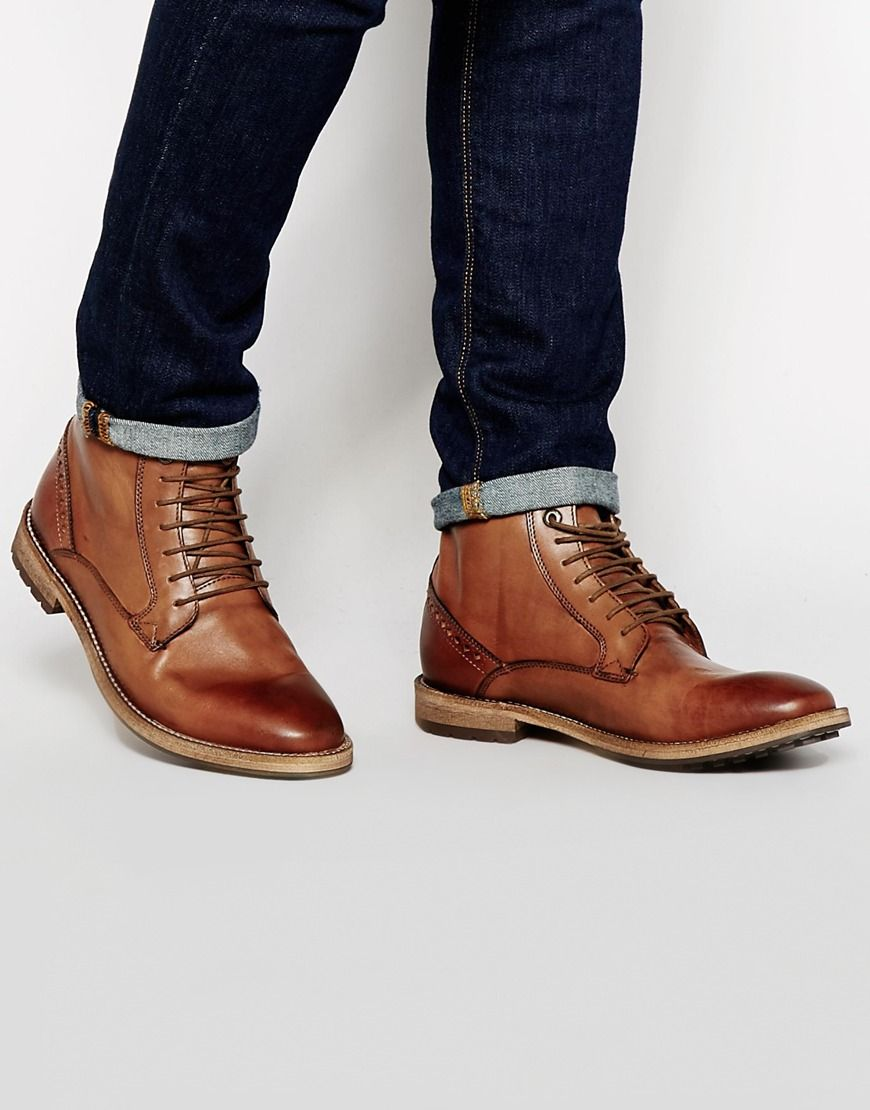 Frank Wright Acton Leather Boots More