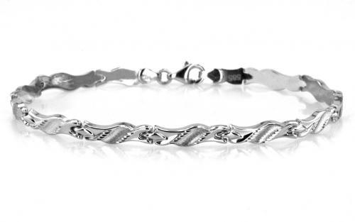 b8e86976b Dámsky náramok na ruku biele zlato | Zlaté náramky | Jewelry, Silver ...