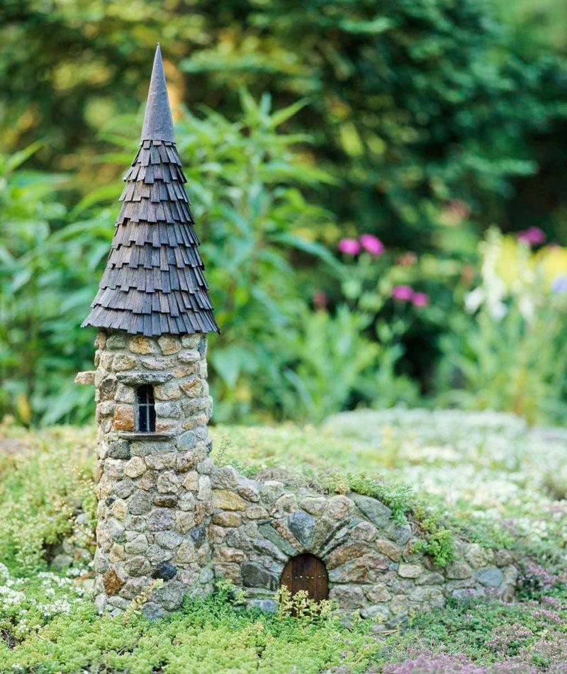 Create a Magical Miniature Garden | Fairy garden castle ...