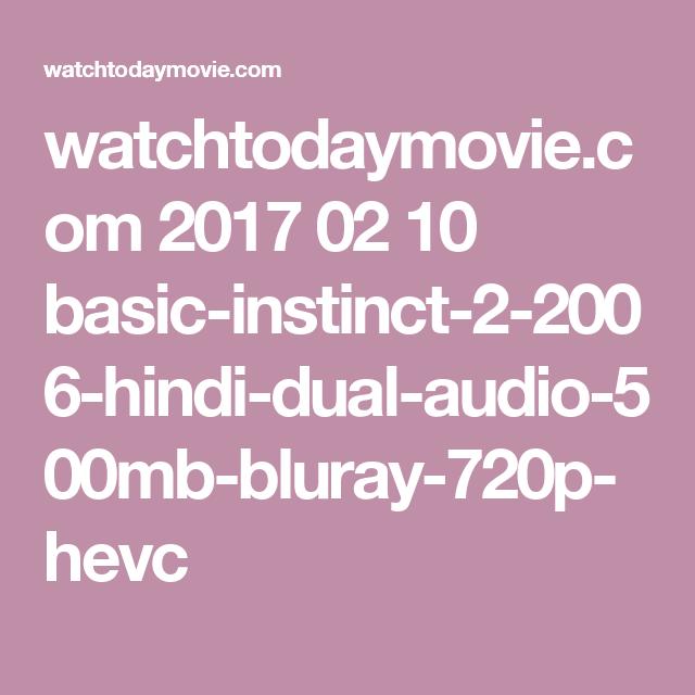 download basic instinct 1 in hindi 720p