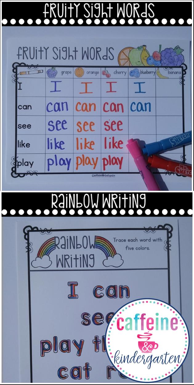 Editable Word Work Word Work Practice Learning Sight Words Word Work [ 1251 x 630 Pixel ]