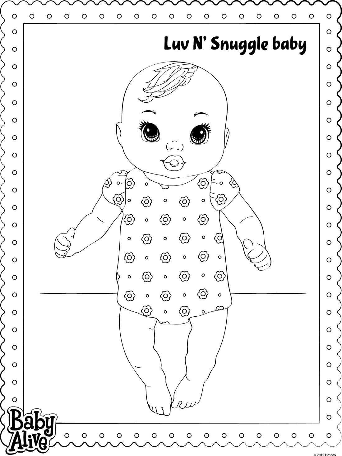 Luv N Snuggle Baby Alive Coloring Pages K5 Worksheets Sailor Moon Coloring Pages Coloring Pages Baby Alive