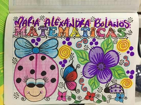 Caratulas Color Cuadernos Escolares Infantiles Dibujos Para 2: Pin De Cholota_ideas En Caraulas Y Portadas De Cuadernos