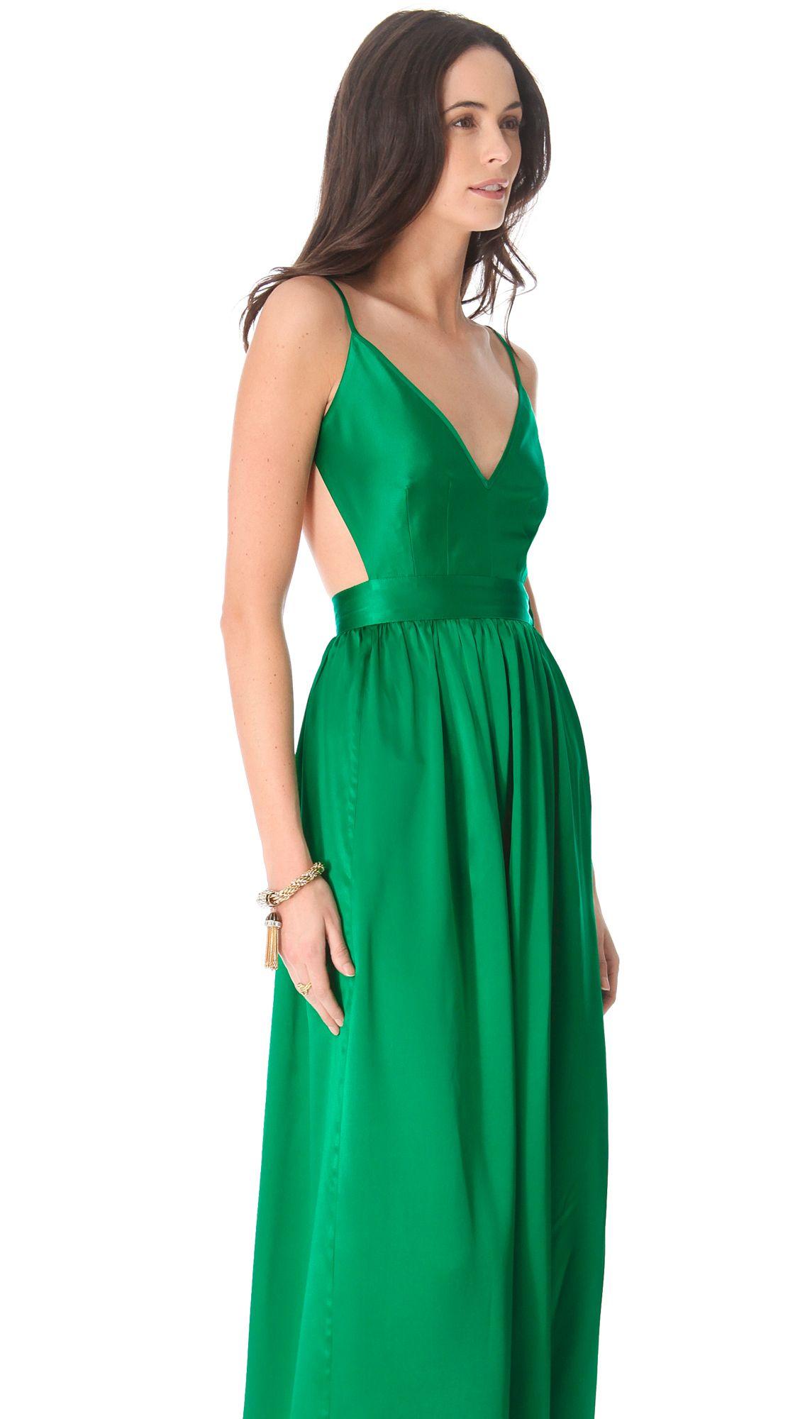One By Contrarian Babs Bibb Maxi Dress Terran Hilden