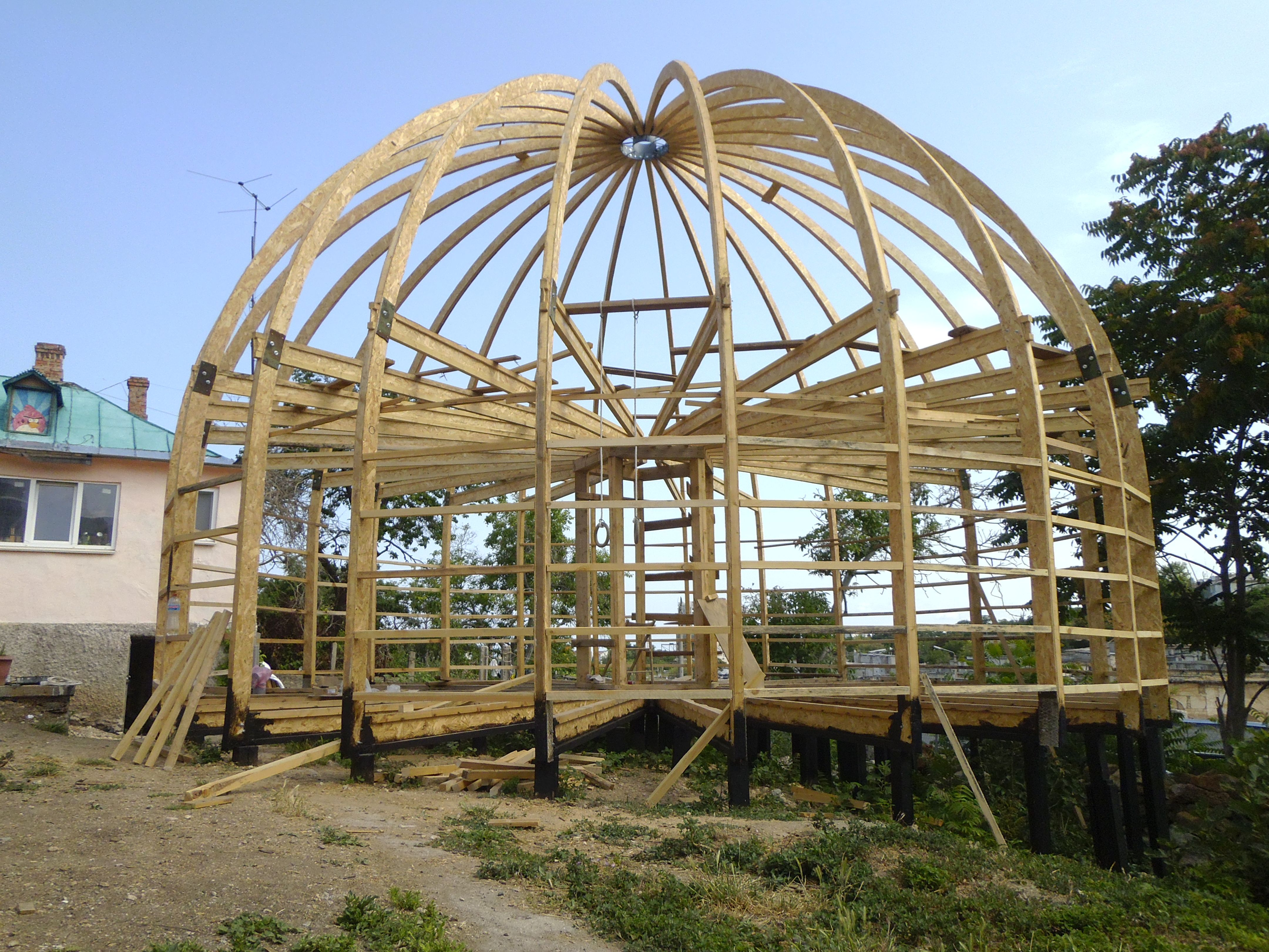 Geodätische Kuppel pin александр auf круглый дом baumhaus