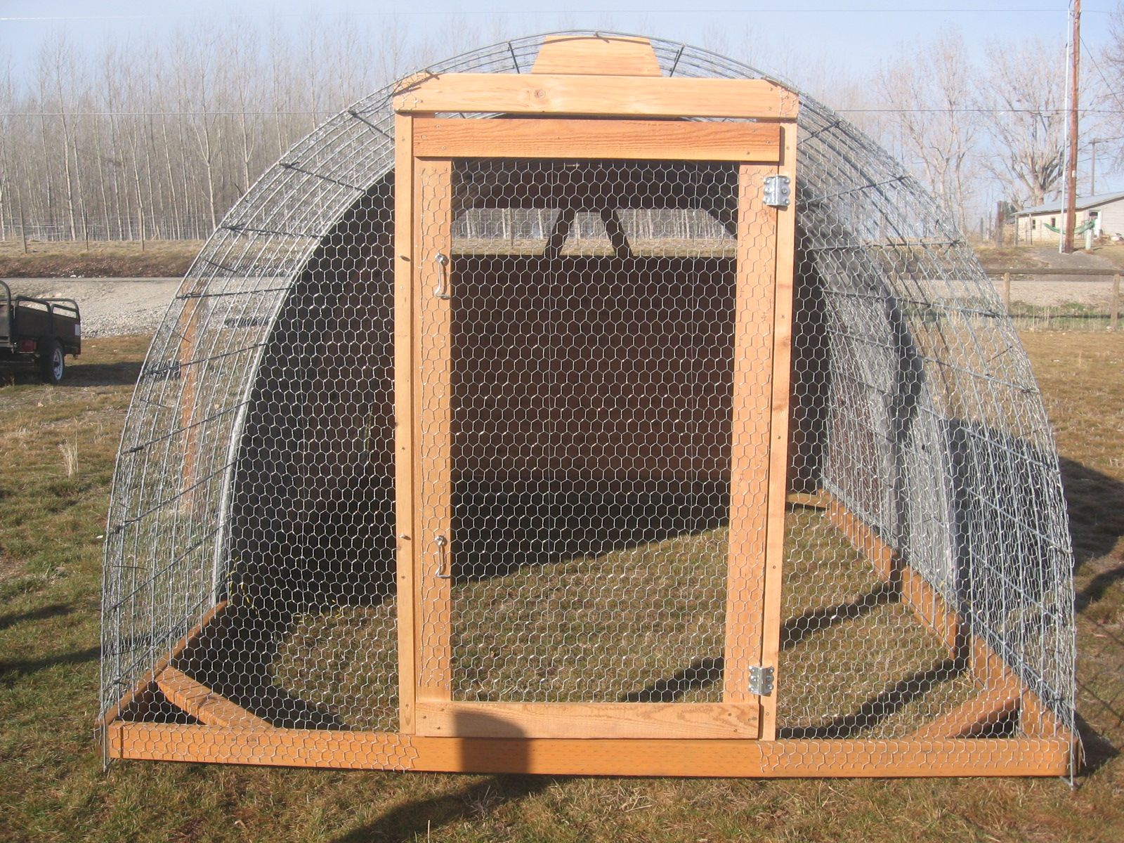 Project freedom ranger hoop house build homesteading for A frame chicken