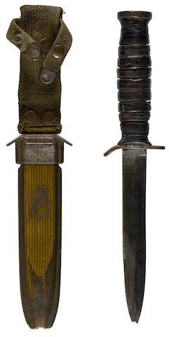 D Day 101st Airborne Us Army Paratrooper Jump Knife And