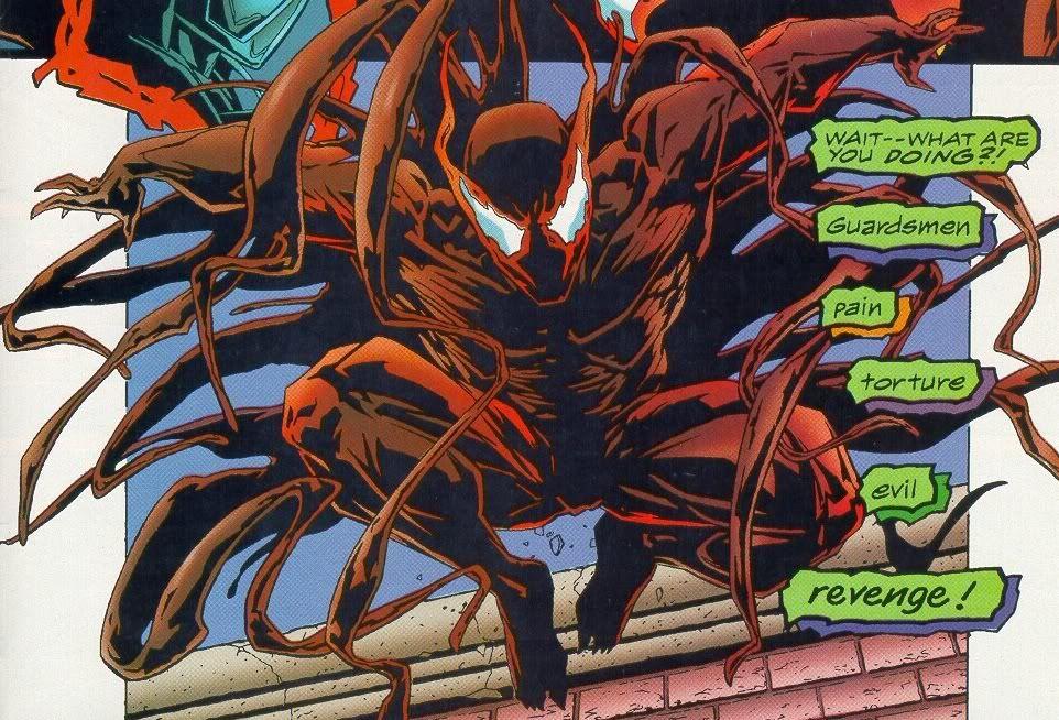 Hybrid Four Symbiotes Together Bonded To Scott Washington