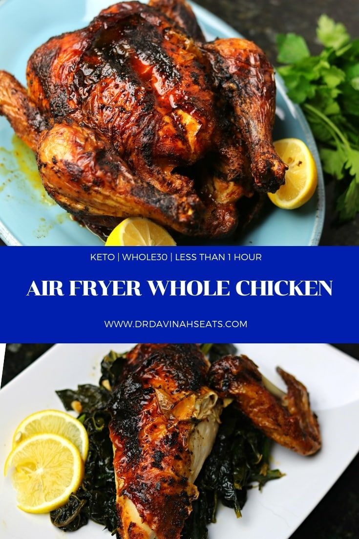 Air Fryer Whole Chicken Recipe (With images) Recipes
