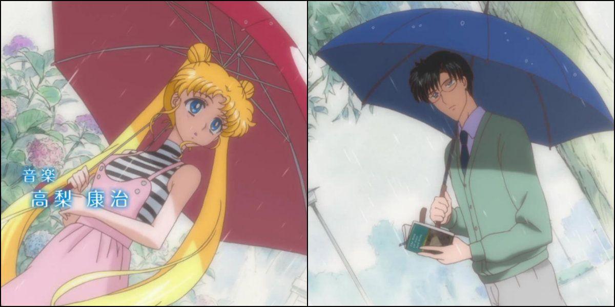 Sailor Moon Crystal - Opening Titles - Serena and Darien Photo ...